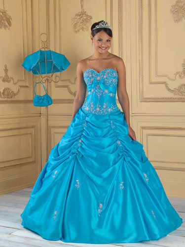 Vestido de Quinceanera en Houston