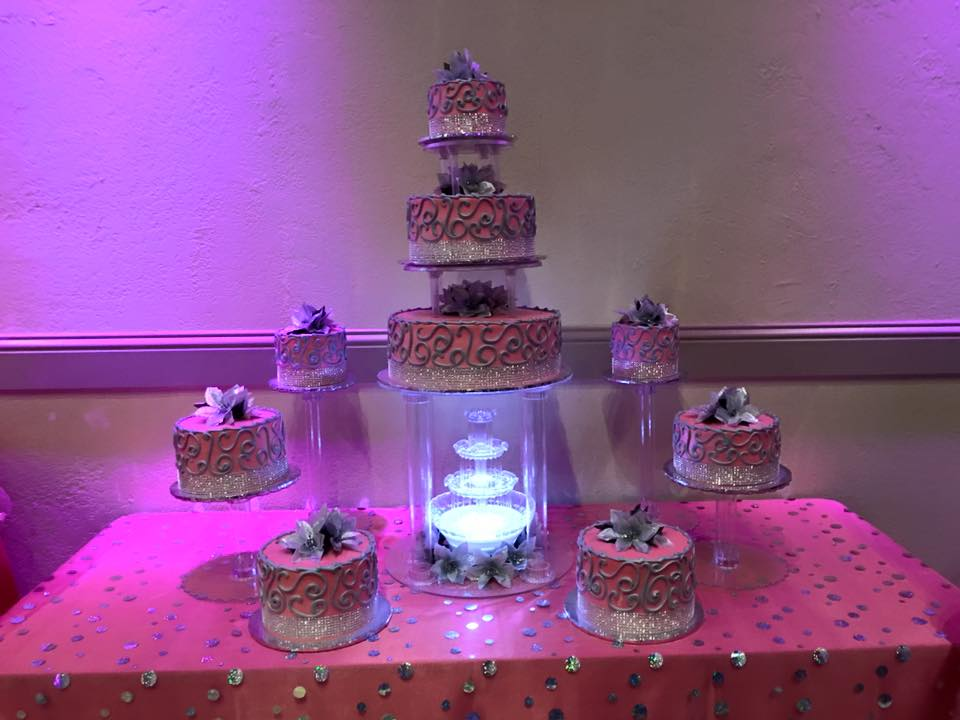 azul reception hall houston cake