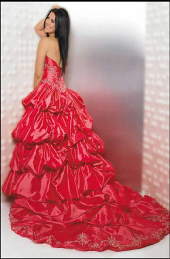 red quinceanera dresses in houston