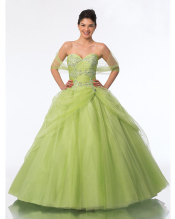 green quinceanera dresses in houston