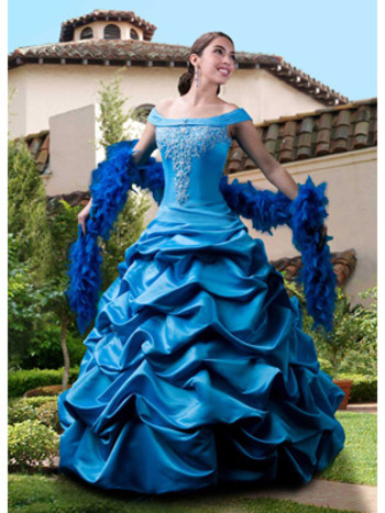 blue quinceanera dresses in houston