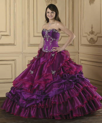 purple quince dresses in houston